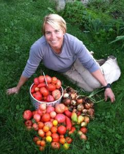 Britt Cooper Phillips of Organic Lawn Care Professional