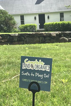 Complete Land Organics makes lawns in New Hampshire safe for children and pets to play on.