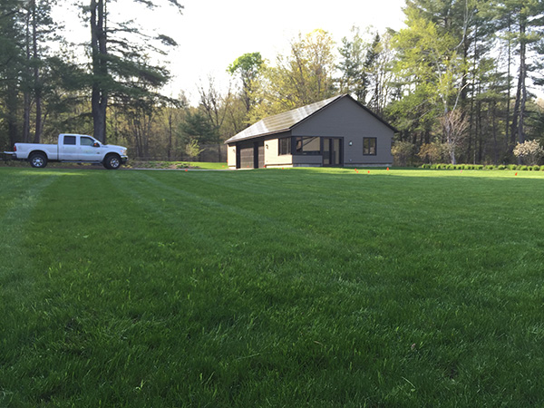 Organic landscape services in New London NH